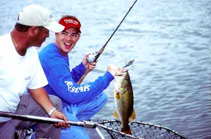 October may be the best all-around fishing month of the year in North Carolina. Here are some great fall fisheries you should visit. (October 2008)