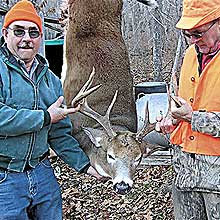 "When Mainers talk about ""big bucks,"" they mean deer that weigh over 200 pounds field dressed. Here's a look at some of the top-ranking whitetails taken in the Pine Tree State last season."