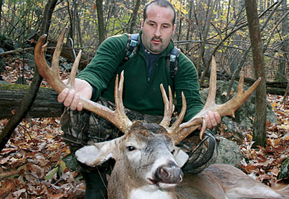 Mark Thomas did the impossible by arrowing two state-record bucks in the same county! Here's his amazing story.