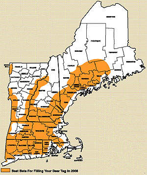 New England's 2008 Deer Outlook -- Part 1: Our Finest Hunting Opportunities