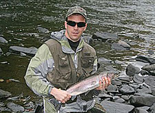 For some of the best winter steelhead fishing in the East, here's where to go. Bring your long-handled net because you're going to need it! (December 2008)