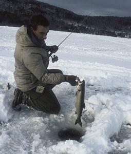 New York's Top 10 Ice-Fishing Lakes