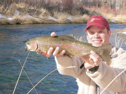New york s 2007 trout forecast for Trout fishing ny