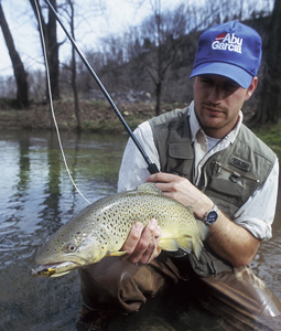 New york s 2008 trout forecast for Trout fishing ny