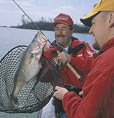 Now's the time for some excitement from the walleyes in Ohio, where state fisheries biologists are expecting excellent fishing for 'eyes in the 20- to 30-inch range this year.