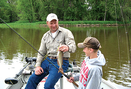 Ohio's 2009 Family Fishing Vacations