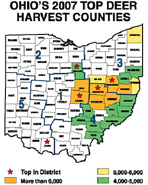 Ohio's 2008 Deer Outlook -- Part 1: Where To Find Our Best Deer Hunting