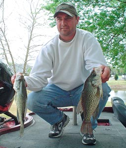 Want to catch a stringer of fat crappie for an early fish fry without burning a tankful of valuable gasoline? Give one of these close-in hotspots a try. (February 2007)