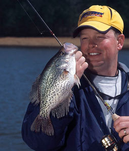 You'll definitely want to include these crappie hotspots near Oklahoma City on your hit list for April slab action. (April 2008)