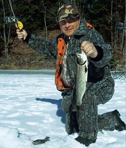 Pennsylvania 39 s february trout on ice for Pa ice fishing