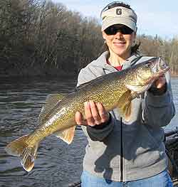 Pennsylvania 39 s 2010 walleye forecast for Fishing lakes in pa
