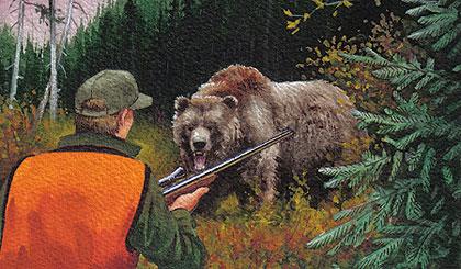 Hunter Day Yukon >> Bear Attacks!
