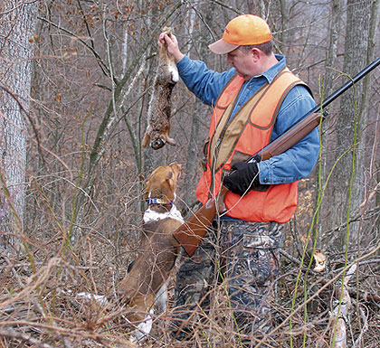 how to carry rabbits when hunting
