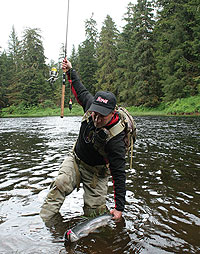 how to catch steelhead from the bank