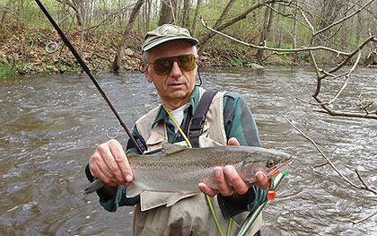 early-season trout tactics, Fly Fishing Bait