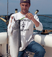 Trolling Tips For Summer Salmon