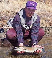 The San Juan River in northwestern New Mexico offers some of the best winter trout fishing in the entire Southwest. Even so, this doesn't mean that it comes without pitfalls and frustrations. (January 2006)
