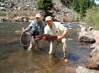 Stagecoach reservoir tailwater fishing report for Yampa river fishing report
