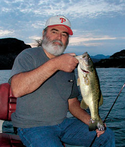 It's time to remember the other Alamo -- Alamo Lake in central Arizona. Bass are back after years of devastating drought. (April 2008)