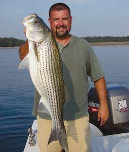 Striper guides on lake hartwell for Fishing lake hartwell