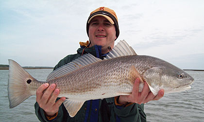 Check out these great winter hunting and fishing opportunities right here in South Carolina.