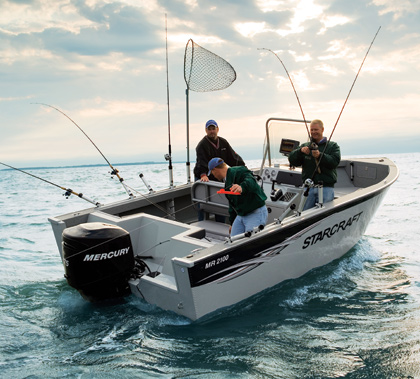 Boat Bottom Deep Fishing V