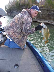Tennessee 39 s 2009 smallmouth fishing forecast for Nolichucky river fishing
