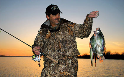 There are plenty of good places to catch crappie in every region of Tennessee. Here's what local experts and biologists say about where to go to catch some slabs this year. (Feb 2009)