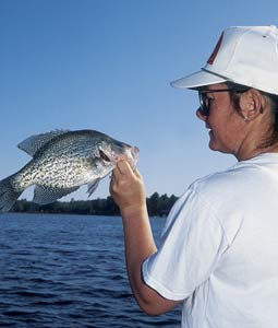 "This is one hot month for catching Volunteer crappie -- and here are three places that feature ""must-fish"" crappie action. (April 2007)"