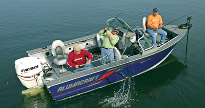 2008 aluminum boat review for Deep v fishing boats