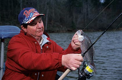 These tips from expert crappie catchers can help put you on East Texas' slabs this month -- cold or no cold! (January 2007)