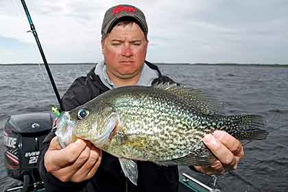 We have crappie to catch for Best crappie fishing times