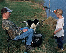 When vacation time rolls around at your house, why not check out a few of these family-friendly fishing destinations? (June 2006)