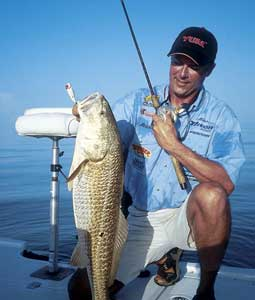 Of the many great places all along our Texas Coast for catching speckled trout and redfish this summer, perhaps none are better than these. (August 2007)