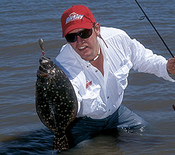 Five hotspots for fall flounder for Texas saltwater fishing magazine