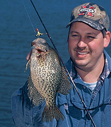Across much of the state, our crappie populations are in very good shape. Here's the latest scoop on where the fishing is apt to be best in your corner of Virginia. (April 2006)