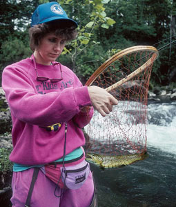 Our state hosts many classic mountain trout streams, as well as marvelous lake fishing -- but some of the best trout fishing in Virginia takes place in river fisheries. (April 2008)