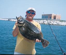 Virginia's Big-Bait Flounder