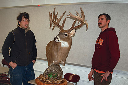 Clifton Forge's John Feazell shot the new state record non-typical buck last November. Here's the story behind the buck. (July 2010)