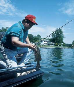 If you work the same places with the same tactics in August as you did last spring, you won't catch very many bass. Consider these destinations and tips for more success bass fishing this month. (August 2007)