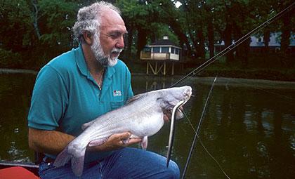 Dog Days Catfish Action On The Tidal James