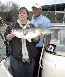 Smith Mountain Stripers -- Making A Comeback