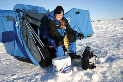 Ice-fishing is an age-old tradition in the North Country. Here's where you can find some of the best the Badger State has to offer.