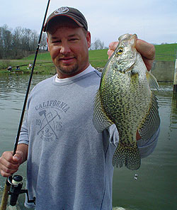 Catching spring crappies can be easy if you concentrate on Wisconsin's best hotspots for papermouths. Here's where to catch your limit pronto! (March 2009)