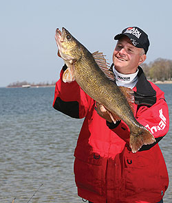 The walleye fishery in Wisconsin's renowned Lake Winnebago is as good right now as it has ever been. Will the bonanza continue, or is it destined to decline? (March 2010)