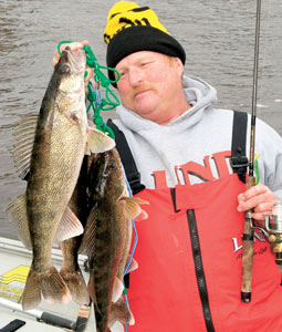 Some of the best walleye fishing in the world may be just a short drive from your home. (April 2008)
