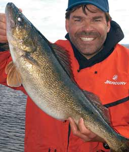 Wisconsin's walleye opener is only weeks away. Try these lakes where you may do more catching than fishing. (May 2008)