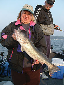 A handful of the Badger State's southern lakes offer some of the hottest walleye action found anywhere south of the Canadian border. (June 2009)