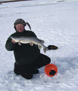 The Badger State is speckled with countless hardwater locales that hold perpetual promise for ice-anglers. (December 2007)