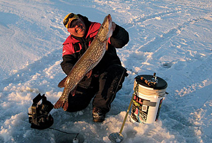 best bets ice fishing